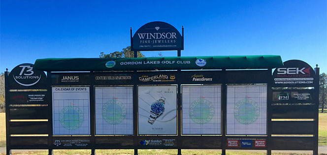 Sponsorship Agreement | Golf Scoreboards On Military Golf Courses